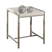 Monarch Specialties Inc. Casey End Table; White