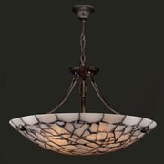 Worldwide Lighting Pompeii 5 Light Bowl Pendant