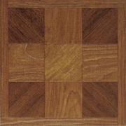 Home Dynamix Dynamix Vinyl Tile 12'' x 12'' Vinyl Tiles in Madison Woodtone
