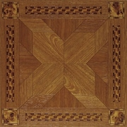 Home Dynamix Dynamix Vinyl Tile 12'' x 12'' Luxury Vinyl Tiles in Madison Woodtone