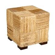 Jeffan Marina Abaca Cube Ottoman