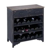 Woodland Imports 18 Bottle Floor Wine Rack