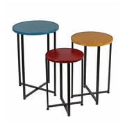 Privilege 3 Piece End Table Set