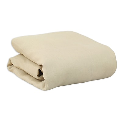 Brite Ideas Living Burlap Daybed Comforter; Natural