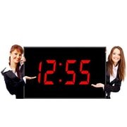 Big Time Clocks Numberal LED Wall Clock