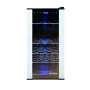 Vinotemp 18 Bottle Dual Zone Freestanding Wine Refrigerator