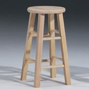 International Concepts 24'' Bar Stool; Unfinished