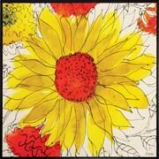 Propac Images Sunflower Garden Framed Wall Art