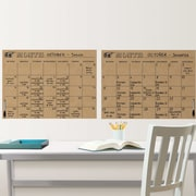 Brewster Home Fashions WallPops Kraft Calendar Board Wall Decal