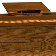 Ironwood Glacier Revolving Dictionary Tabletop Lectern; Dixie Oak