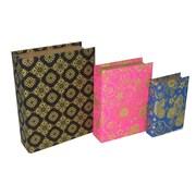 Cheungs 3 Piece Mixed Print Book Box Set