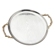 Godinger Silver Art Co Woodlands Round Serving Tray