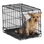 Midwest Homes For Pets iCrate Single Door Pet Crate; X-Small (16'' H x 13'' W x 22'' L)