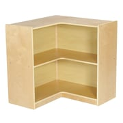 ECR4Kids Birch Corner Storage Unit; 30'' H x 30'' W x 30'' D
