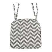 Brite Ideas Living Zig Zag Corded Pleated Foam Seat Cushion