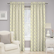 Traditions by Waverly Make Waves Single Curtain Panel; Sterling