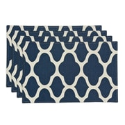 Chooty & Co Strathmore Lined Placemat (Set of 4); Oceanside