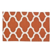 Brite Ideas Living Strathmore Lined Placemat; Cayene