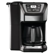 Black & Decker 12 Cup Mill and Brew Coffee Maker; Gray