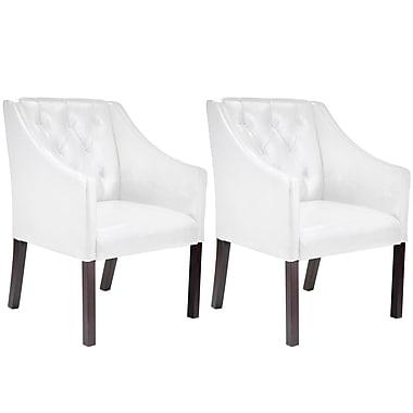 CorLiving™ LAD-618-C Antonio Accent Club Chair, Set of 2