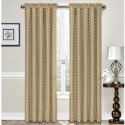Traditions by Waverly Ellis Curtain Single Panel; Natural