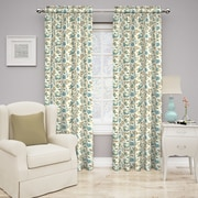 Traditions by Waverly Set in Spring Curtain Single Panel; Spa