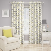 Traditions by Waverly Set in Spring Curtain Single Panel; Sterling