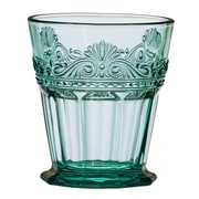 Global Amici Double Old Fashioned Glass (Set of 4); Teal