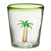 Global Amici Marina Palm Tree Double Old Fashioned Glass (Set of 4)