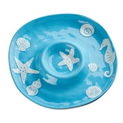 Global Amici Coastal Bright Chip N Dip Tray