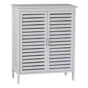 Gallerie Decor Natural Spa 24.5'' x 30'' Free Standing Cabinet; White