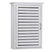 Gallerie Decor Natural Spa 14.5'' W x 21'' H Wall Mounted Cabinet; White