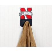 HensonMetalWorks NCAA Wall Mounted Coat Hook; University of Nebraska