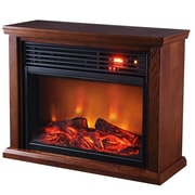 SUNHEAT Thermal Wave Portable Infrared Electric Fireplace