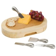 Picnic Time Entertaining Formaggio Cutboard Cheese Tray