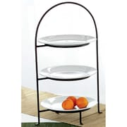 TAG Classic 3-Tiered Plate Stand
