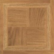 Home Dynamix Dynamix Vinyl Tile 12'' x 12'' Vinyl Tiles in Madison Woodtone