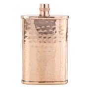 Copper Mug Co 6 oz. Flask; Hammered