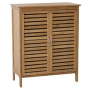Gallerie Decor Natural Spa 24.5'' W x 30'' H Cabinet; Natural Bamboo