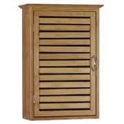 Gallerie Decor Natural Spa 14.5'' x 21'' Wall Mounted Cabinet; Natural Bamboo