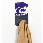 HensonMetalWorks NCAA Wall Mounted Coat Hook; Kansas State University