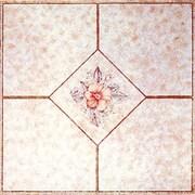 Home Dynamix 12'' x 12'' Luxury Vinyl Tile in Light Pink Flower