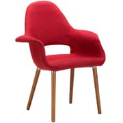 Edgemod Barclay Arm Chair (Set of 2); Red