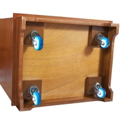 Elegant Home Fashions Wine Cabinet Casters