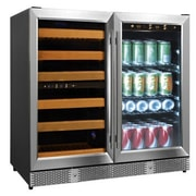Eurodib 56 Bottle Dual Zone Built-In Wine Refrigerator