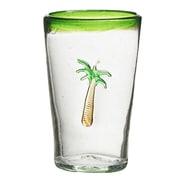 Global Amici Marina Palm Tree Highball Glass (Set of 4)