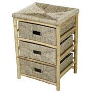 Heather Ann 3 Drawer Cabinet