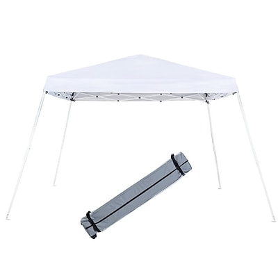 Abba Patio Slant Leg Instant Pop Up 9 Ft. W x 9 Ft. D Canopy WYF078278353462