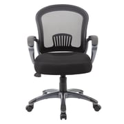 Boss Office Products Mid-Back Ergonomic Mesh Task Chair