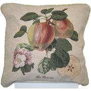 DaDa Bedding Splendor of Apple Woven Decorative Pillow Cover